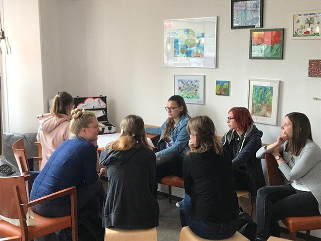 Besuch von Heilpädagogik-Studierenden