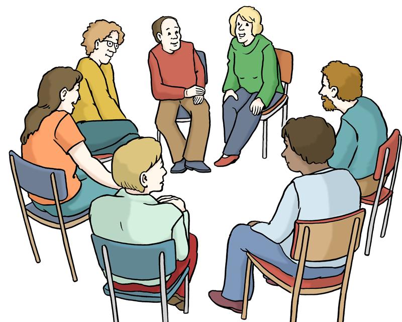 Leichte Sprache -Gesprächsrunde