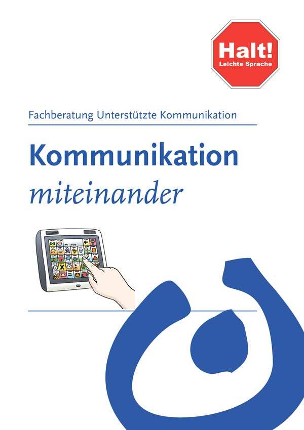 Flyer Unterstuetzte Kommunikation 2020