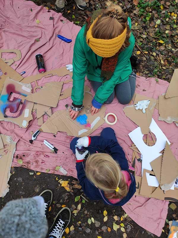 Herbst mit der Koordinierungsstelle für inklusive Kinder- und Jugendarbeit (KiK)