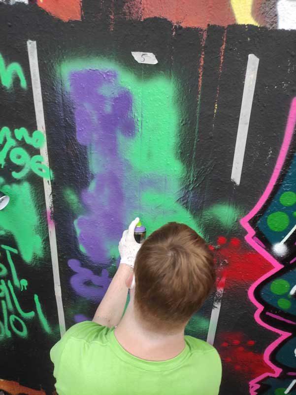 KiK-Aktionen im Sommer 2021 - Graffiti